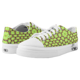 Multicolored trendy pattern Low-Top sneakers