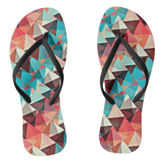 Multicolored Triangles Flip Flops