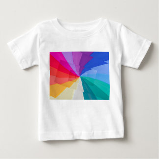 multicolored vortex on Baby Fine Jersey T-Shirt