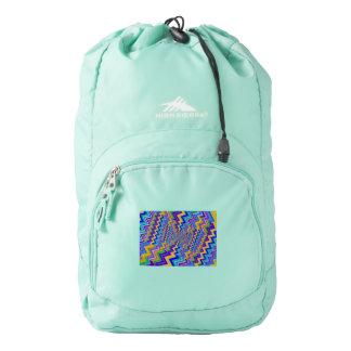 multicolored vortex on High Sierra Backpack, Backpack