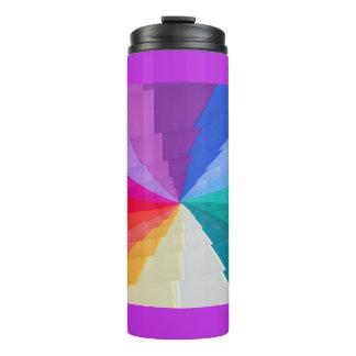 multicolored vortex onl Thermal Tumbler