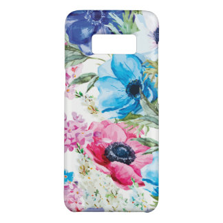 Multicolored Whimsical Anemone Flowers Case-Mate Samsung Galaxy S8 Case