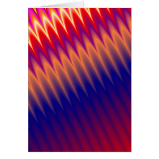 Multicolored zizzag waves background cards