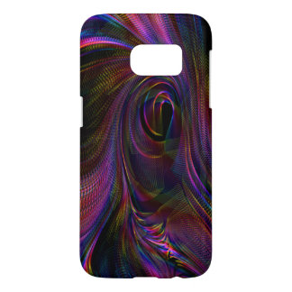 Multicolour fluid texture Samsung Galaxy S7,Case Samsung Galaxy S7 Case