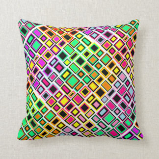 Multicoloured Abstracted Square cushion Merry