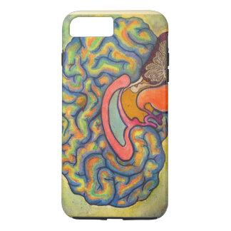 Multicoloured brain iPhone 7 plus case