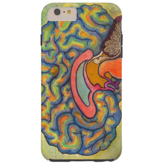 Multicoloured brain tough iPhone 6 plus case