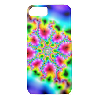 multicoloured fractal Case-Mate iPhone case