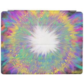 Multicoloured Star Abstract Art Painting Design iPad Cover