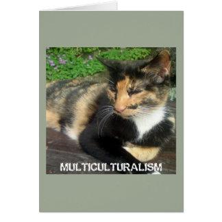 Multiculturalism Cat Card