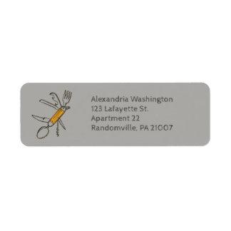 Multifunction Tool Gadget Return Address Return Address Label