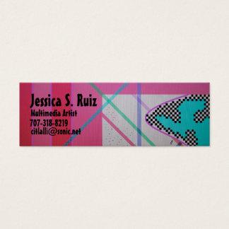 Multimedia Art Mini Business Card