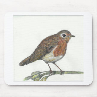 Multimedia Robin Mouse Pad