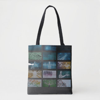 Multimedia Tracking and Competitive Analysis Tote Bag