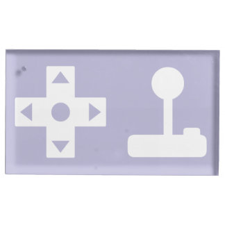 Multiplayer Mode in Lavender Table Card Stand Table Card Holders