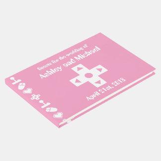 Multiplayer Mode in Petal Pink Guest Book