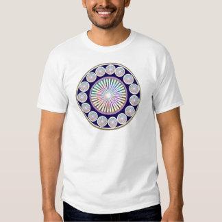 Multiple CHAKRA  -  Sparkle n Live Mandala T Shirts