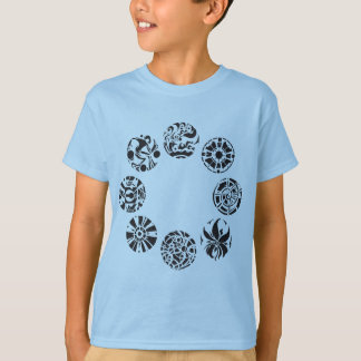 Multiple Intelligences Symbols Kids T-Shirt