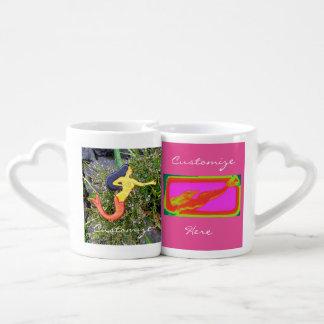 multiple mermaids coffee mug set