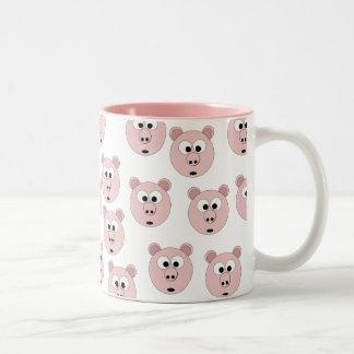 Multiple Mr Pig the 1st on Mug