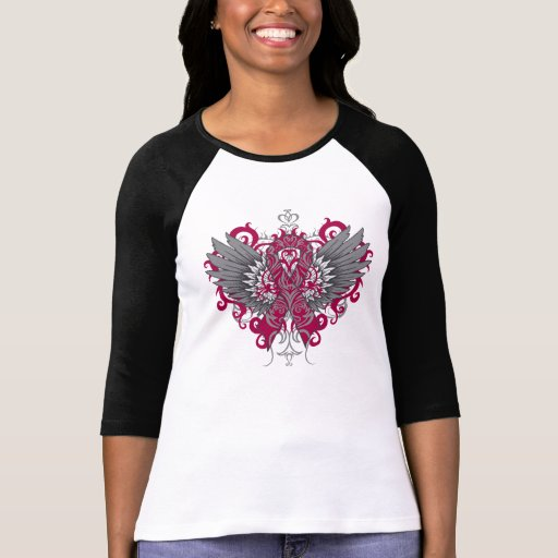Multiple Myeloma Cool Wings T Shirt