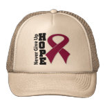 Multiple Myeloma Hope Never Give Up Mesh Hat