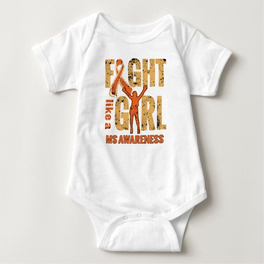 Multiple Sclerosis Awareness Baby Bodysuit