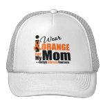 Multiple Sclerosis I Wear Orange For My Mom Hats