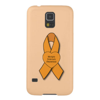 Multiple Sclerosis Ribbon Galaxy S5 Cases