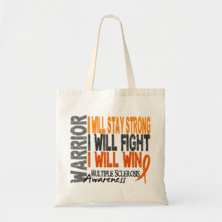 Multiple Sclerosis Warrior Tote Bag