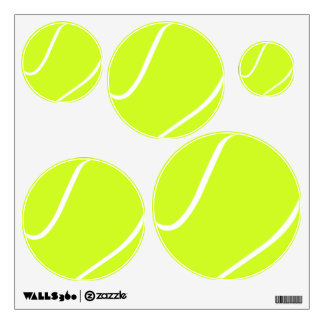 Multiple Sizes Tennis Balls Coach/Team Sport Decal