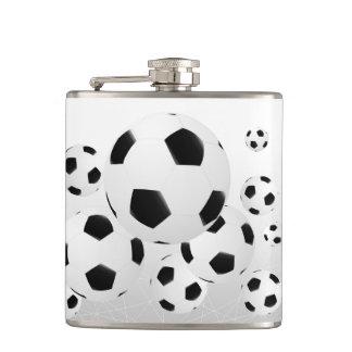 Multiple Soccer Balls Flask