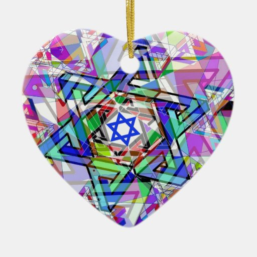 Multiplicity of the Star of David Christmas Ornaments