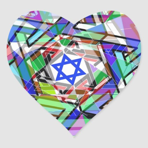 Multiplicity of the Star of David Heart Stickers