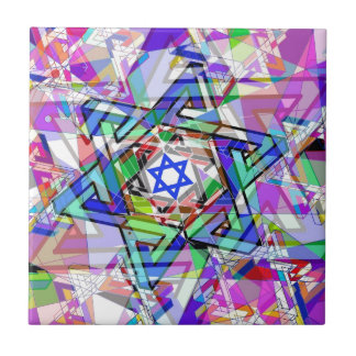 Multiplicity of the Star of David Tile