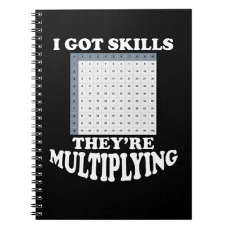 Multiplying Math Skills Notebooks