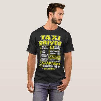 Multitasking Taxi Driver Tshirt