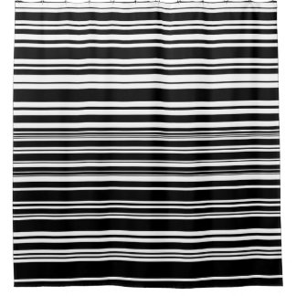 Multitudes of Uneven Black and White Stripes