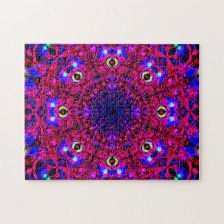 Multiverse Reality   Relaxation Mandala Jigsaw Puzzle