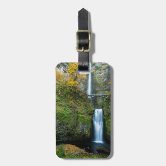 Multnomah Falls In Autumn In The Columbia Gorge Luggage Tag