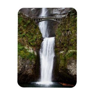 Multnomah Falls in the Columbia Gorge Rectangular Photo Magnet