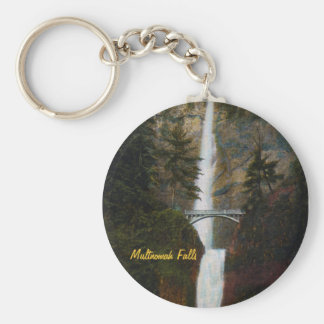 Multnomah Falls Keychain