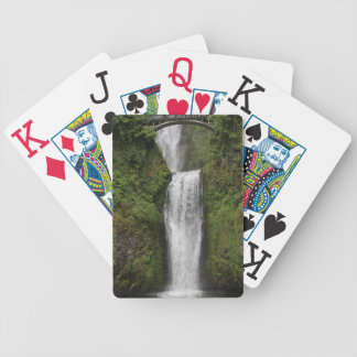 Multnomah Falls Large Print Playing Cards