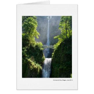Multnomah Falls, Oregon Card