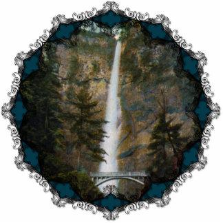 Multnomah Falls Ornament Photo Sculpture Ornament