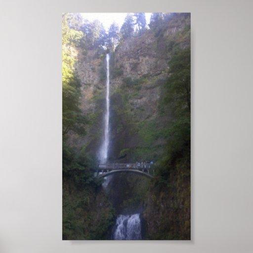 Multnomah Falls Waterfall Print