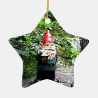 Multnomah Gnome III Ceramic Star Ornament