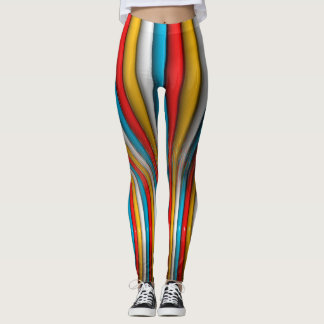 Multy 3D Abstract Leggings