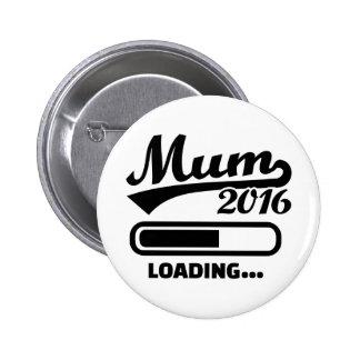 Mum 2016 2 inch round button