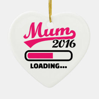 Mum 2016 ceramic ornament